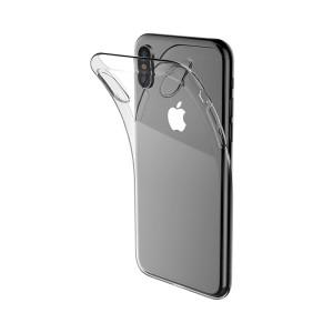 Husa Silicon Premium TPU iPhone XS Max, Transparent Borofone