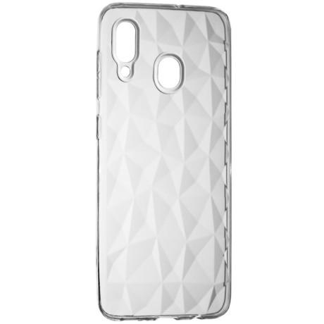 Husa Silicon Prism Samsung Galaxy A30, Transparent