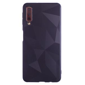 Husa Silicon Prism Samsung Galaxy A7 2018, Negru Diamond