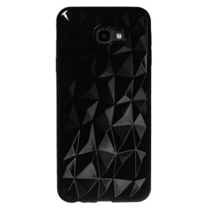 Husa Silicon Prism Samsung Galaxy J4 Plus 2018, Negru