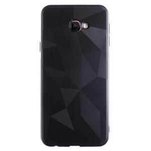 Husa Silicon Prism Samsung Galaxy J4 Plus 2018, Negru Diamond