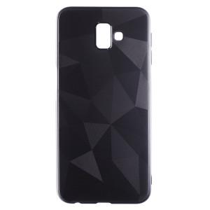 Husa Silicon Prism Samsung Galaxy J6 Plus 2018, Negru Diamond