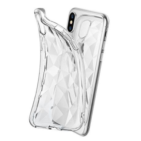 Husa Silicon Prism Samsung Galaxy M30, Transparent