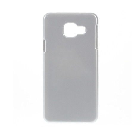 Husa silicon Samsung Galaxy A3 2016 Contakt Argintiu