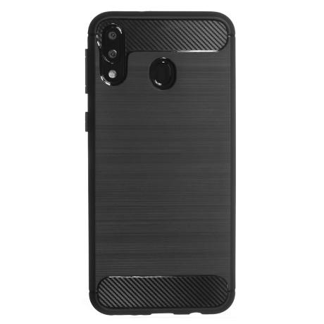 Husa Silicon Samsung Galaxy A30, Carbon Negru