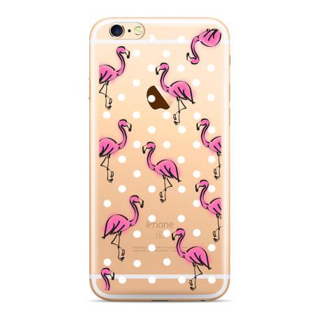 Husa Silicon Samsung Galaxy A30, Flamingo 003