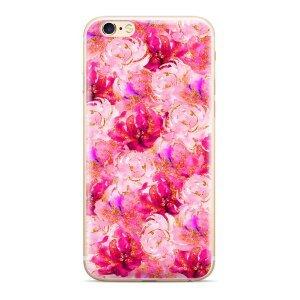 Husa Silicon Samsung Galaxy A30, Flowers 006