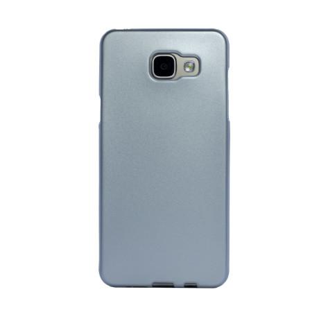 Husa silicon Samsung Galaxy A5 2016, Contakt Argintie