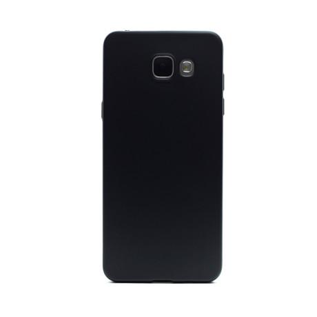 Husa silicon Samsung Galaxy A5 2016, Contakt Neagra
