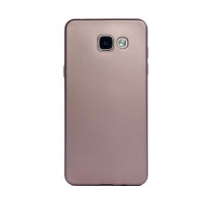 Husa silicon Samsung Galaxy A5 2016, Contakt Roz Gold