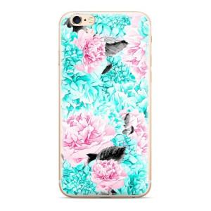 Husa Silicon Samsung Galaxy A50, Flowers 003