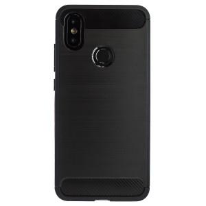 Husa Silicon Samsung Galaxy A50, Negru Carbon