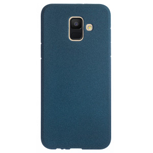 Husa Silicon Samsung Galaxy A6 2018, Albastru Sand