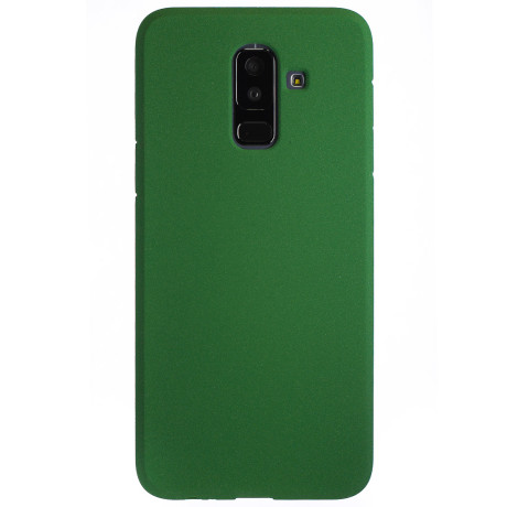 Husa Silicon Samsung Galaxy A6 Plus 2018, Verde Sand
