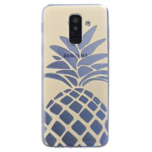 Husa Silicon Samsung Galaxy A6 Plus, Ananas