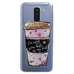 Husa Silicon Samsung Galaxy A6 Plus, Coffee