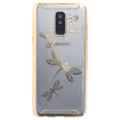 Husa Silicon Samsung Galaxy A6 Plus, Libelule