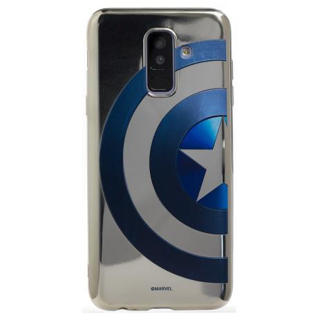 Husa Silicon Samsung Galaxy A6 Plus, Marvel
