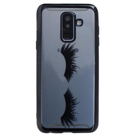 Husa Silicon Samsung Galaxy A6 Plus, Neagra Gene