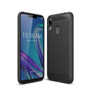 Husa Silicon Samsung Galaxy A60, Carbon Negru