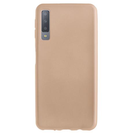 Husa silicon Samsung Galaxy A7 2018, Contakt Aurie