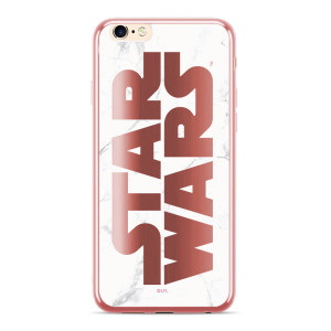 Husa Silicon Samsung Galaxy A7 2018, Star Wars 007  Rose Gold