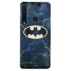 Husa Silicon Samsung Galaxy A9 2018, Albastru Batman