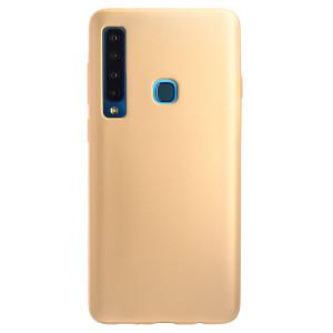 Husa Silicon Samsung Galaxy A9 2018, Aurie