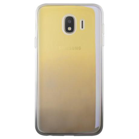 Husa silicon Samsung Galaxy J4 2018, Multicolor-Neagra