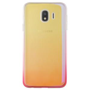 Husa silicon Samsung Galaxy J4 2018, Multicolor-Roz