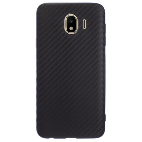 Husa Silicon Samsung Galaxy J4 2018, Negru Carbon