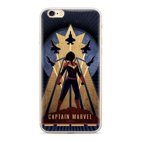 Husa Silicon Samsung Galaxy J4 Plus 2018, Captain Marvel 002