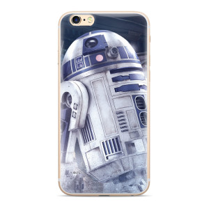 Husa Silicon Samsung Galaxy J4 Plus 2018, R2D2 Star Wars 001