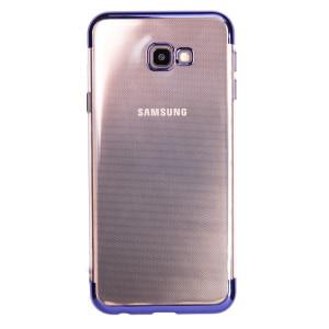 Husa silicon Samsung Galaxy J4 Plus 2018, Rama Albastra