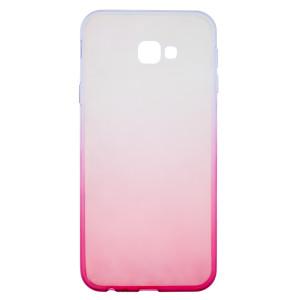 Husa Silicon Samsung Galaxy J4 Plus 2018, Roz Ombre