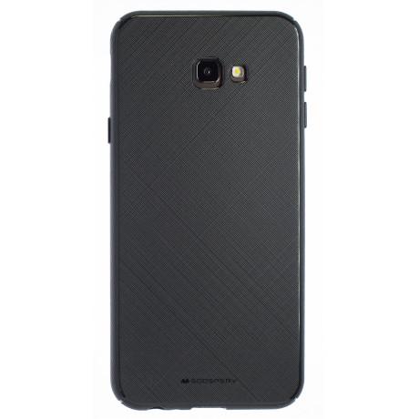 Husa Silicon Samsung Galaxy J4 Plus 2018, Stylelux Negru