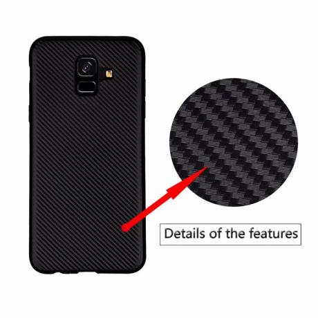 Husa Silicon Samsung Galaxy J4 Plus, Carbon Neagra