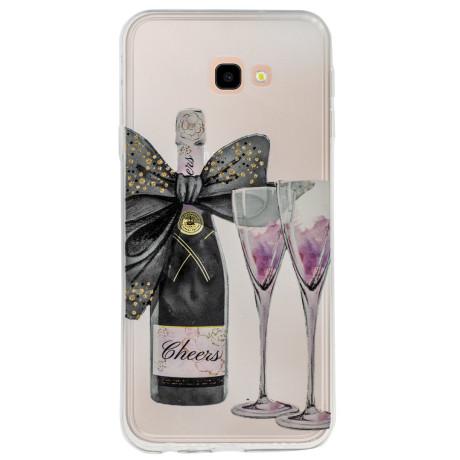 Husa Silicon Samsung Galaxy J4 Plus, Champagne
