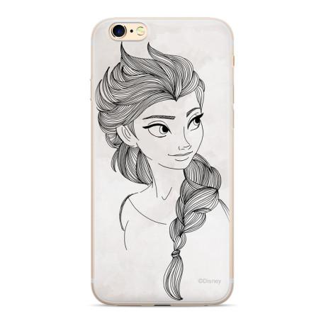 Husa Silicon Samsung Galaxy J4 Plus Disney Elsa 009