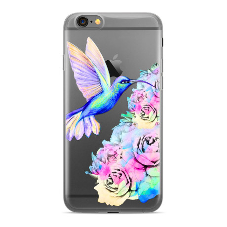 Husa Silicon Samsung Galaxy J4 Plus Hummingbird 001