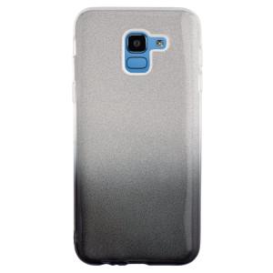 Husa Silicon Samsung Galaxy J6 2018, Glitter Fumurie