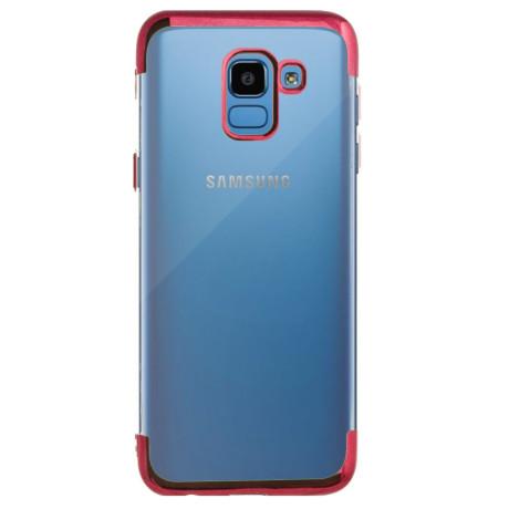 Husa Silicon Samsung Galaxy J6 2018, Rama Rosie