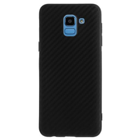 Husa Silicon Samsung Galaxy J6, Carbon Neagra