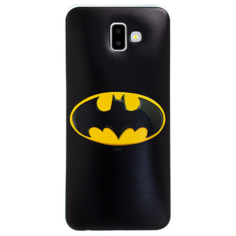 Husa Silicon Samsung Galaxy J6 Plus, Neagra Batman