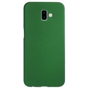 Husa Silicon Samsung Galaxy J6 Plus, Verde Sand
