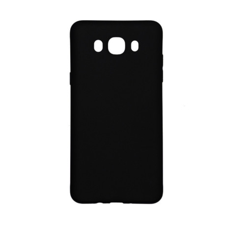 Husa silicon Samsung Galaxy J7 2016, Contakt Neagra