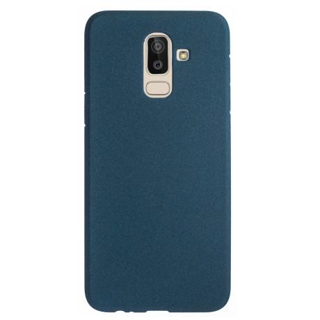 Husa Silicon Samsung Galaxy J8 2018, Albastru Sand