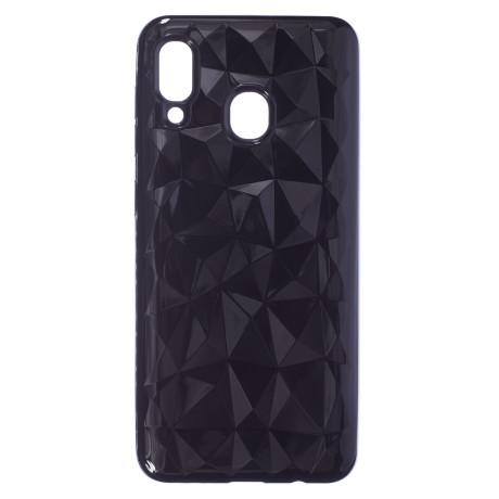 Husa Silicon Samsung Galaxy M20, Negru Prism