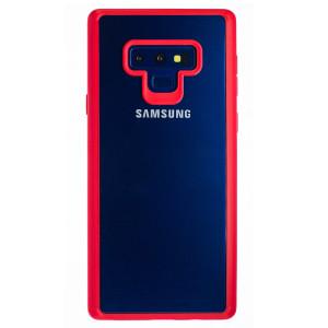 Husa silicon Samsung Galaxy Note 9, Rama Rosie