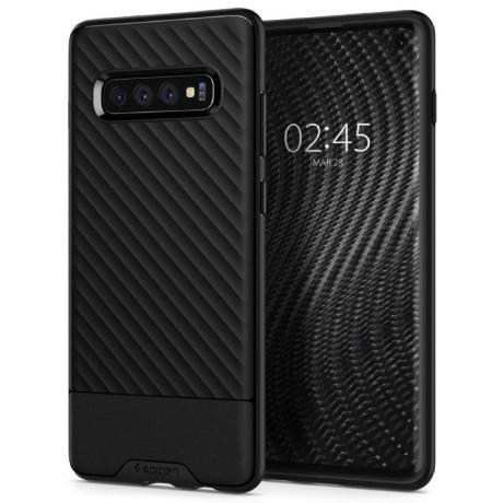 Husa Silicon Samsung Galaxy S10 E, Negru Core Armor